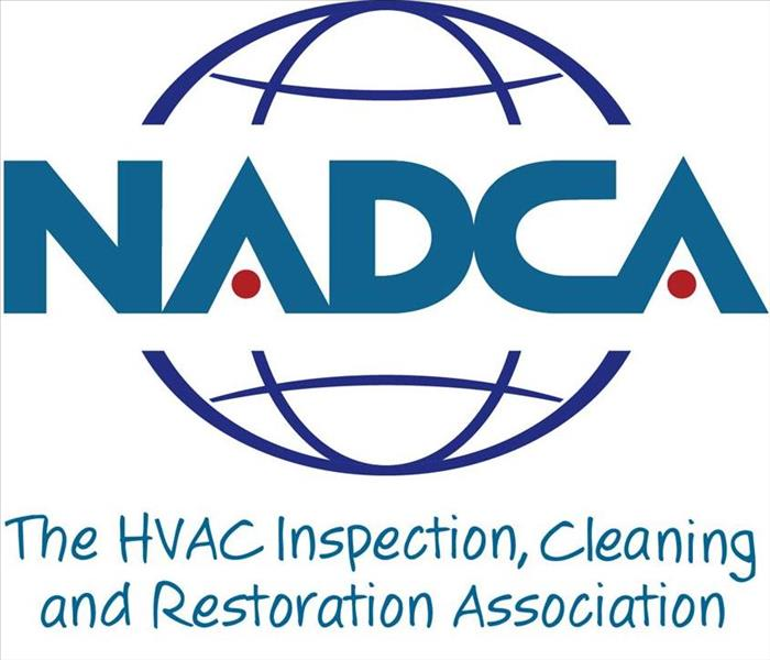 a graphic that says NADCA, the HVAC inspection, cleaning, and restoration association