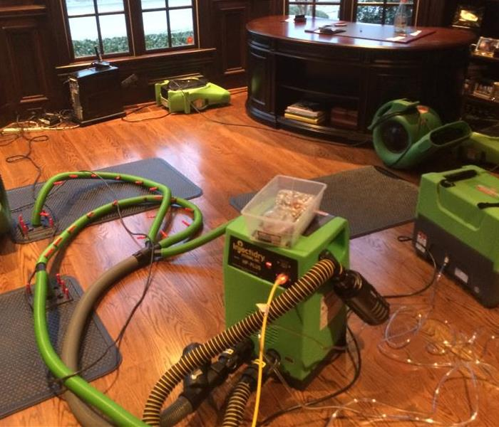 Water Damage Lakeland SERVPRO Assists in Storm Response
